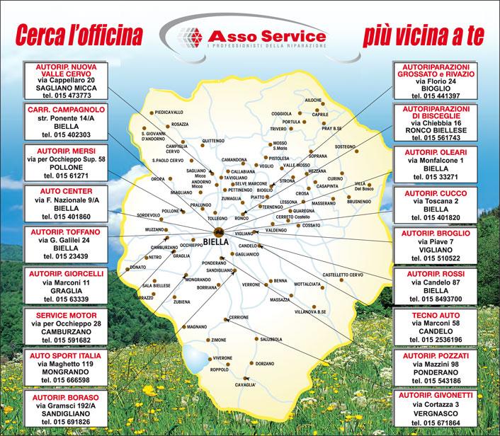 Mappa Officine